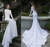 2014 Berta Designer Crystal Sexy Cheap Backless Wedding Gown...