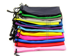Wholesale AAAAA cm High quality Mix Colors waterproof leather plastic sunglasses pouch soft eyeglasses bag glasses case