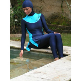 Wholesale Women s muslim Swimwear on sale muslim casual wear for via DHL door to door service
