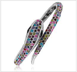 Wholesale snake vintage bangle bracelet antique silver tone ways of wearing BB Beauty Paradise Rihood Trading