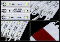 Wholesale 1000pcs LEDs Light SMD Waterproof high power LED Module V Pure White Warm White color option12V Input