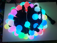 Wholesale Christmas lights Garland christmas waterproof string lights Wedding lighting RGB change m ball