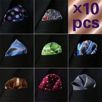 Wholesale Hanky Mens Neckties Hankies Pocket Square