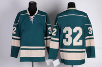 Wholesale Wild Backstrom Green Ice Hockey Jerseys Athletic Hockey Jerseys With Logos and Names Brand Sports Jersey China Mix Order Players Uniform