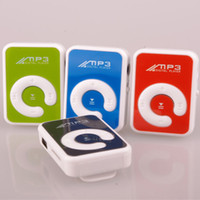 Wholesale 2013 low price Sales promotion retail Mini Clip MP3 player with micro sd card slot clip mp3 player Fashion women MP3