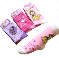 Wholesale In stock Character kids girls girl Princess Tights children cartoon socks Stockings pairs cheap