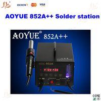 Aoyue 852A++ brand new Guangdong China Free ship 110V 220V AOYUE 852A++ SMD Hot Air Gun Soldering station Desoldering Station,Aoyue852A++ Hot Air Rework Station,repair system