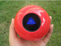 Wholesale English Version CM Red Magic Ball Magic Prophecy Ball Magic Predictions Decision Maker Balls Creative Toys Gifts