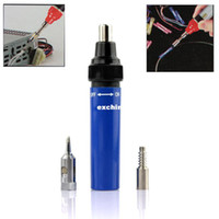 Wholesale New Top Quality Compact Cordless Butane Gas Soldering Torch Pen Iron Tool