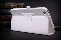 Folio stand PU leather cover case with pen belt for Samsung ...