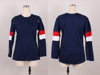 Women's 2014 Sochi Winter Olympics Team USA Blank No Name Bl...