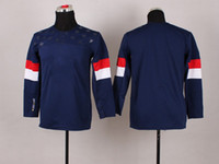Youth 2014 Sochi Winter Olympics Team USA Blank No Name Blue...
