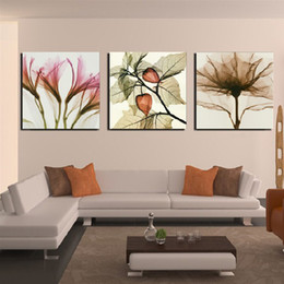 3 Pieces Modern Wall Painting living room Abstract flower picture wall art oil Painting Home Decorative Art Picture Canvas Prints