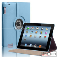 Smart Cover/Screen Cover 7.9'' For Apple 360 Degree Rotating PU Leather Magnetic Case Smart Cover Stand For iPad Air 4 3 2 Mini 100pc FEDEX