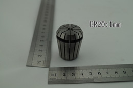 Wholesale ER20 collet mm CNC milling lathe tool and spindle motor