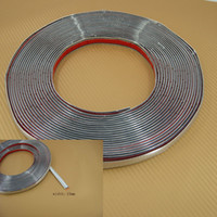 Wholesale 15MM Car Decoration MOULDING Trim Strip Silver