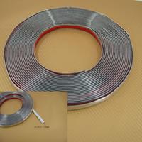 Wholesale 15MM Car Decoration MOULDING Trim Strip Silver