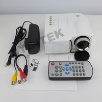 Wholesale Micro Portable Video Pocket HD LED HDMI Mini Projector For Iphone Ipad Remote control