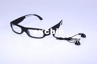 Wholesale Bluetooth Sun Glasses GB Mp3 Player Hi Fi Stereo Headset Sunglasses Black