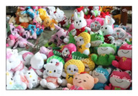Wholesale Wedding BABY gifts plush toys Animals dolls Below cm Rabbit cat frog Fruit Bear Elephant For children