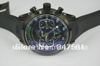 Wholesale Black rubber bracelet watches LAND RAVER TH PRECISION CHRONOGRAPH Classic oil needle display