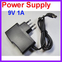 Wholesale EU Plug AC V V to DC V A Power Supply Converter Adapter mA for Arduino UNO MEGA