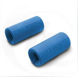 Wholesale New Fat Gripz Original Bar Grippers Blue Ultimate Arm Builder bar