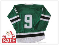Cheap Hockey Jerseys 2013 New Style Stars 9 Mike Modano Gree...