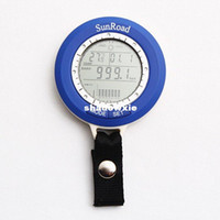 Wholesale Mini LED Digital Fishing Barometer Waterproof Multi temp reels lure line fish finder