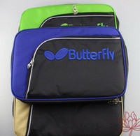 Wholesale Butterfly tbc table tennis ball bag table tennis rackets cover bilayer film sets