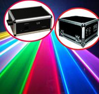 Wholesale 5000mW W K pps RGB Animation LOGO laser light Stage engineering case DMX512 ILDA DJ Party Disco Club Bar Stage Lighting Flightcase