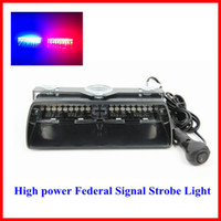 Wholesale s2 viper federal signal high power led car strobe light auto warn light police light red blue amber