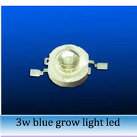 Wholesale 20pcs W Blue light NM led plant grow lamp high power LED lamp beads