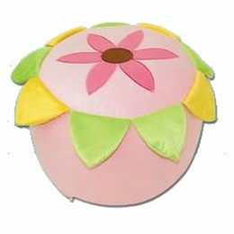 Wholesale Retail Super Cute sunflower Cartoon Inflatable Stool Animal Shaped Inflatable Stool thickened inner inflator