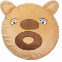 Wholesale Retail Super Cute Bear two Cartoon Inflatable Stool Animal Shaped Inflatable Stool thickened inner inflator