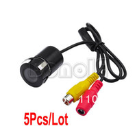 Wholesale 5pcs Lens Angle Night Vision Car Rear View Camera Reverse Backup Color Camera