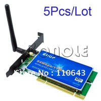 Wholesale Holiday Sale Mbps WiFi LAN Wireless PCI Card Adapter