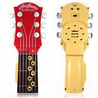 Wholesale High quality fashion pretty portable mini keys music digital electronic guitar Infrared ray transmitter