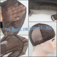 Wholesale Glueless Lace Base Adjustable Sturdy Strap Stretchy Wig Cap Wig Making for full lace Wig Lace Front Wig amp Weaving Wig Hot sell to UK now