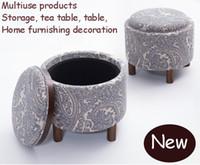 Wholesale Leisure tea table lockers multi purpose furniture solid wood furniture cloth art wood sofa corner coffee table wood table