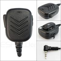 Wholesale Speaker Mic for YAESU VX R R Radio Walkie talkie transceiver interphone J0159A Fshow