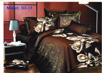 Cheap Luxury Bedding sets 3D Bedding 4 Pcs Oil Printed Bedcover Bedsheet Sets Bedclothes Duvet Cover PillowCase Bed Linen Free shipping DHL