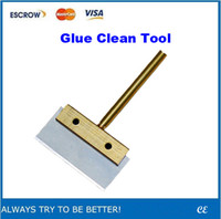 Wholesale LOCA UV Glue Clean Tool W T Solder Iron Tip with Blade for Glue Remove Tool
