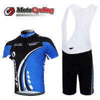 Wholesale Blue Giant Jerseys Men Shirts Bicycle Wear Polyester Road Bike Tops Compressed High Quality Men Bicycle Jersey Sets