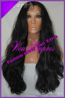 8 Indian Hair Wig,Half Wig Fashion Long wavy Peruvian virgin hair Glueless Front Lace wig& Full Lace Wig with baby hair around looks natural Freeshipping