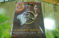 antique card games - cards packing Authentic Prop Jewelry Katniss Movie The Hunger Games MOCKINGJAY antique brass pin