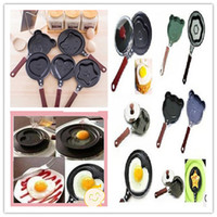 Wholesale HOT Originality kitchen ware non stick cartoon Fried Eggs pan cute animal environmental protection frying pan for children family best gift
