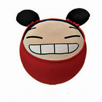 Thick flannel, PVC plastic liner baby furniture retail - Retail children s furniture Super Cute giggling baby Cartoon Inflatable Stool Animal Shaped Inflatable Stool