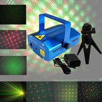 Wholesale S5Q Mini Projector Holographic Laser Star Stage DJ Lighting Disco Party Lights AAAAOE