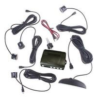 Wholesale S5Q Rear Reversing Sensor Sound Alert Car Reverse LED Parking Backup Radar Newba AAAALL